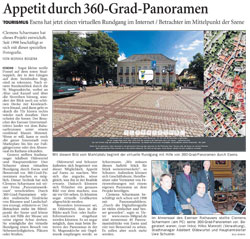 Bericht über www.esens-360grad.de