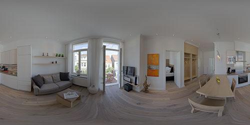 360° Panorama Ferienwohnungen Villa Vie Norderney